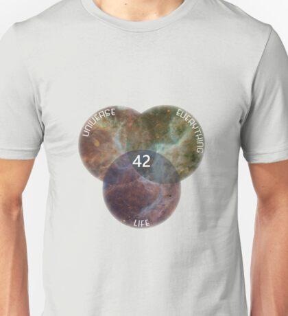 LifeUniverseEverything 42 Unisex T-Shirt