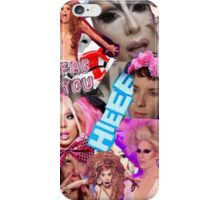 Rupaul's Drag Race Alaska Collage iPhone Case/Skin