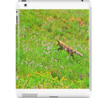 Fox On The Hunt iPad Case/Skin