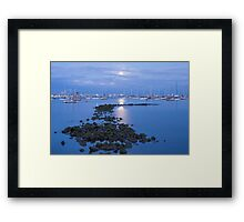 amazing hours Framed Print