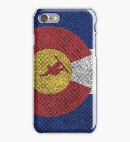 Colorado Snowboard Grunge iPhone Case/Skin