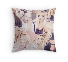 Tana Mongeau Collage Throw Pillow