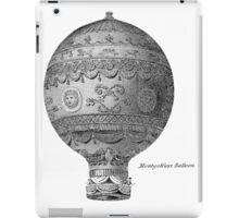 Vintage Hot Air Balloon - Montgoltiers iPad Case/Skin