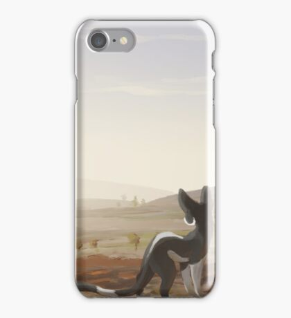 A Cold Day on the Moor iPhone Case/Skin