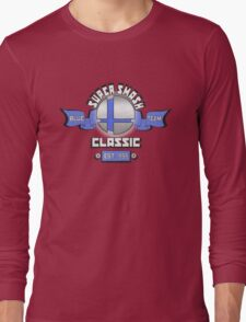 Super Smash Classic Blue Team Long Sleeve T-Shirt