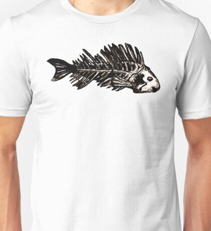 MOMENTO MORI - 3 fishes version Unisex T-Shirt