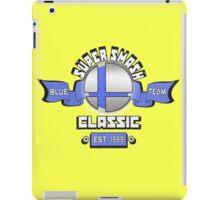 Super Smash Classic Blue Team iPad Case/Skin
