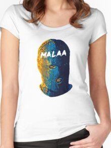 Malaa face art Women's Fitted Scoop T-Shirt