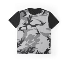 Urban Camouflage - Grey Graphic T-Shirt