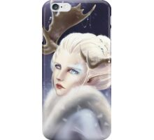 Ice elven iPhone Case/Skin