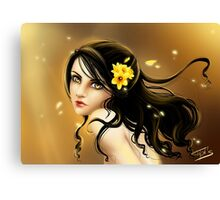 Lady Daffodil Canvas Print