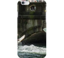 River Surfing on the Eisbach, Munich iPhone Case/Skin