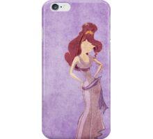 Hercules inspired design (Meg) iPhone Case/Skin