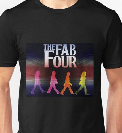 music the fab four 2 Unisex T-Shirt
