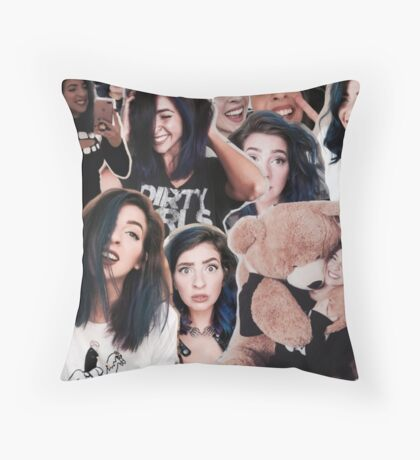 The Gabbie Show Collage Throw Pillow