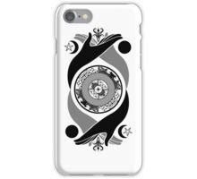 Spiritual Compass (black) iPhone Case/Skin