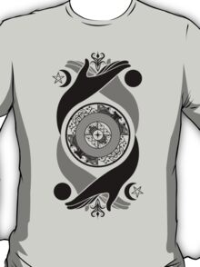 Spiritual Compass (black) T-Shirt