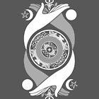 Spiritual Compass (white) by IggyMarauder