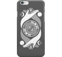 Spiritual Compass (white) iPhone Case/Skin