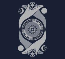 Spiritual Compass (silver) One Piece - Long Sleeve