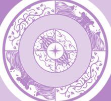 Spiritual Compass (lavender) Sticker