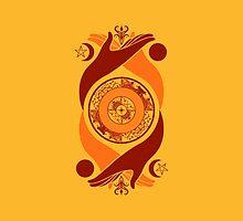 Spiritual Compass (fire) by IggyMarauder