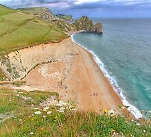 Durdle Door by Colin  Williams Photography
