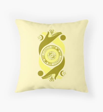 Spiritual Compass (air) Throw Pillow