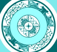 Spiritual Compass (water) Sticker