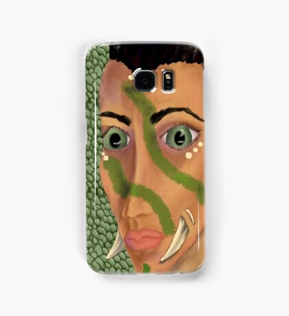 Young Orcish Woman Samsung Galaxy Case/Skin