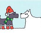 Snowdog by Susannah Burton-Hopkins