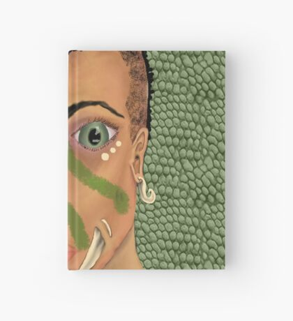 Young Orcish Woman Hardcover Journal