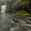 Guide Falls. by Warren  Patten
