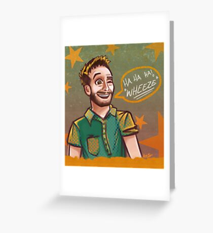 Funhaus - Bruce Greene Greeting Card