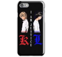 I am Justice iPhone Case/Skin