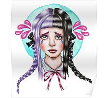Fucsia Tears Poster