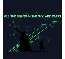 All the Lights in the Sky are Stars Photographic Print