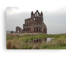 Whitby Abbey, North Yorkshire, UK Canvas Print