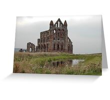 Whitby Abbey, North Yorkshire, UK Greeting Card