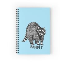 The Bandit (Raccoon) Spiral Notebook