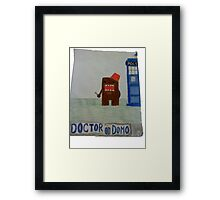 Doctor Domo Framed Print