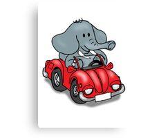 Elephant VW Canvas Print
