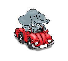 Elephant VW Photographic Print