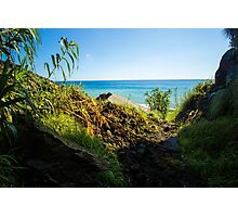 The View from the Cave - Nature Photography Photographic Print
