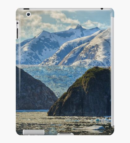 Mountains, Glacier and Icy Water iPad Case/Skin