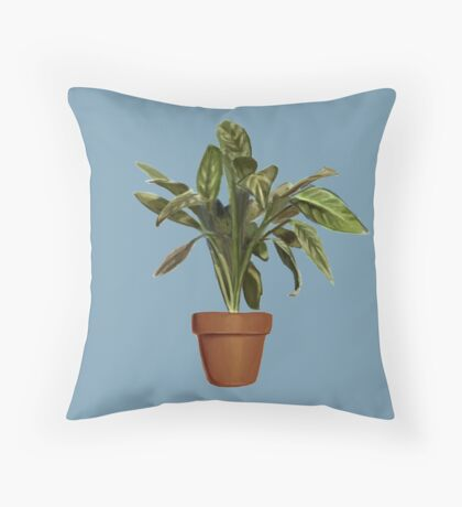 Ficus Throw Pillow