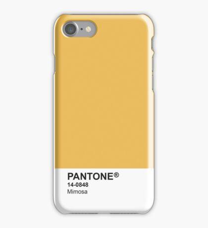 Pantone Universe Phone Case - Mimosa 14-0848 iPhone Case/Skin