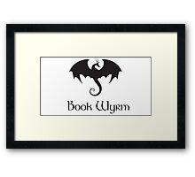 Book Wyrm Framed Print