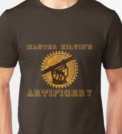 Master Kilvin's Artificery Unisex T-Shirt