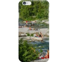 Banks of the Isarwerkkanal, Munich iPhone Case/Skin